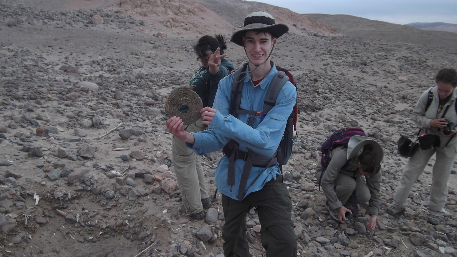 The UCSD Archaeological Field School in Peru, Photo by Prof. Goldstein