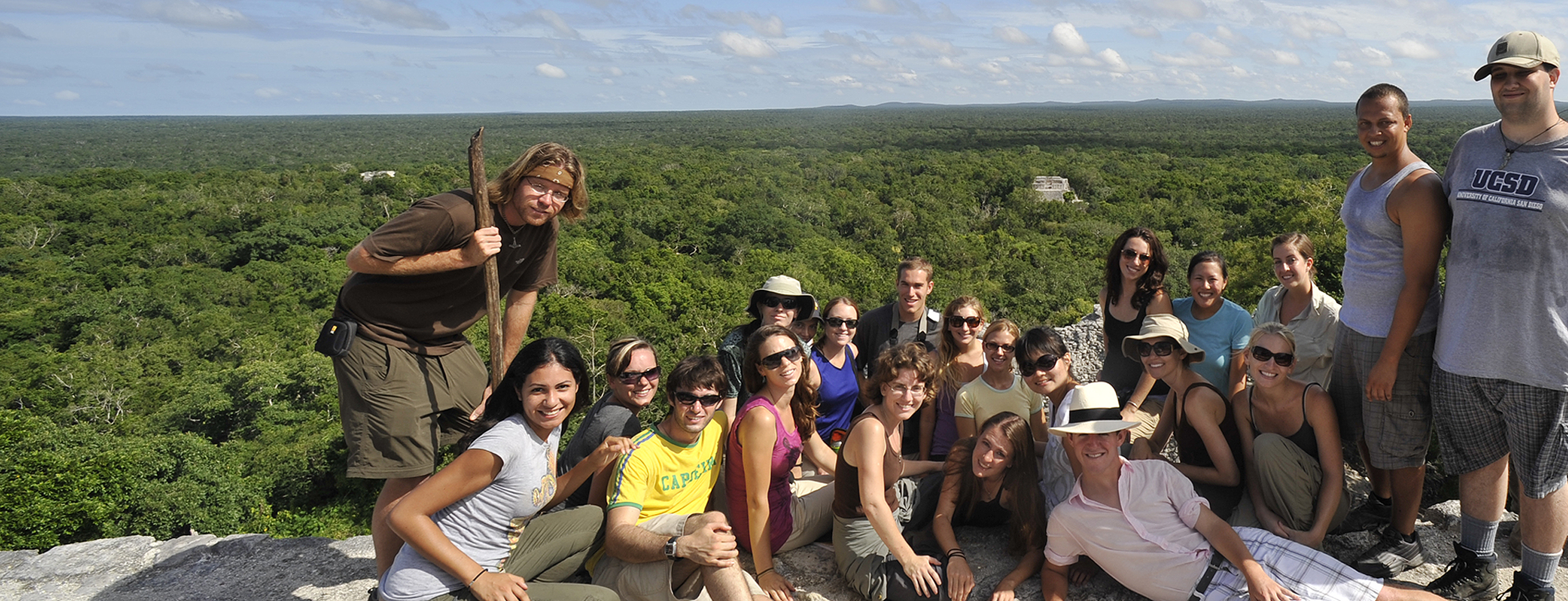 Calakmul, Mexico. Departmental Study Abroad Program. Photo by Prof. Braswell