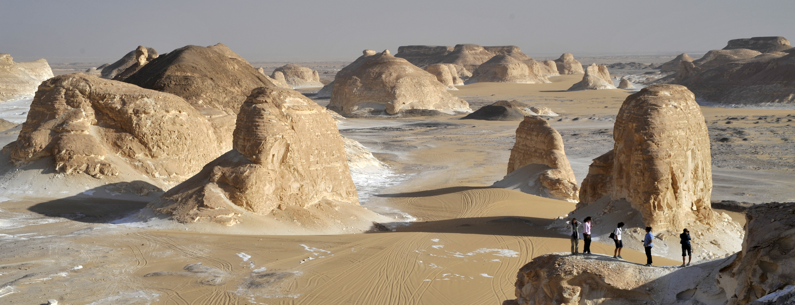 White Desert, Egypt. Departmental Study Abroad Program. Photo by Prof. Braswell
