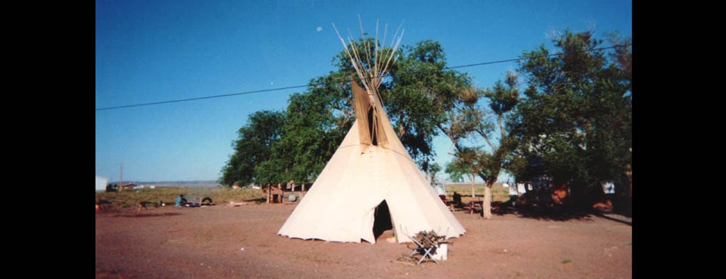 Native American Church tipi, Navajo Nation.  Photo by Thomas J. Csordas