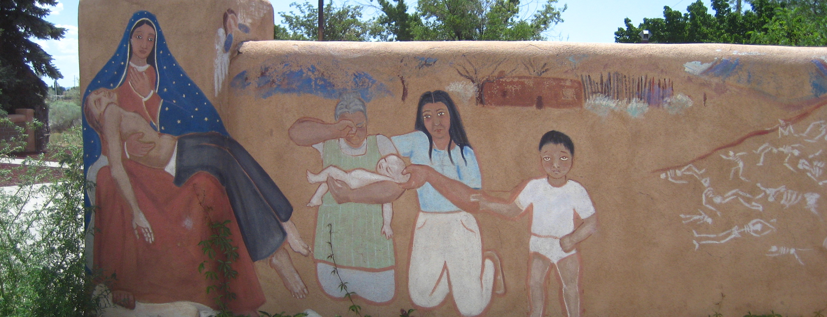 Mural, New Mexico.   Photo by Janis H. Jenkins