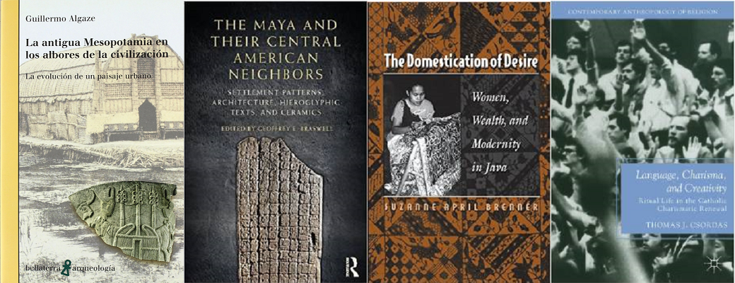 Sample publications from UC San Diego Anthropology Faculty